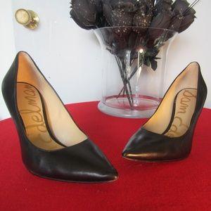 Sam Edelman Women,s Black Shoes Size 8M